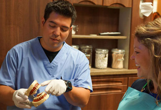 Dr Rodrigo With Patient One