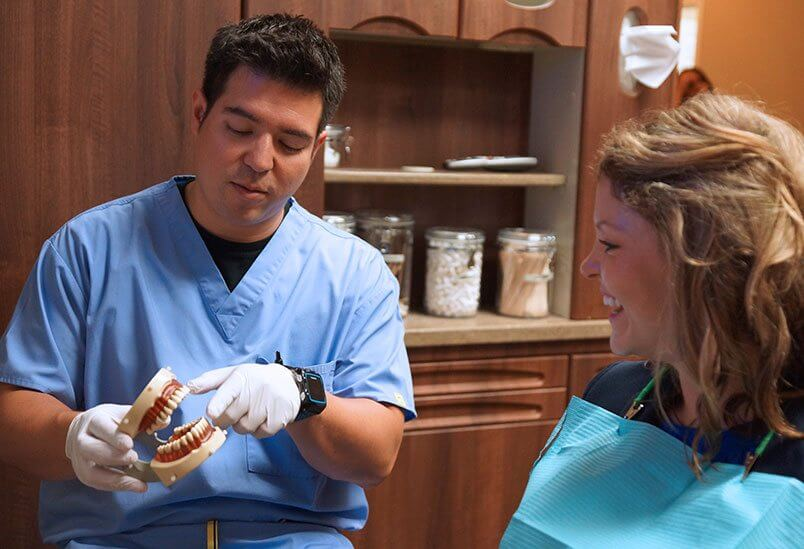 Dr Rodrigo With Patient